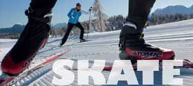 Cross Country Skate Skiing