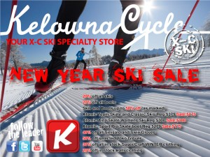 New Year Cross Country Ski and Equipment Sale